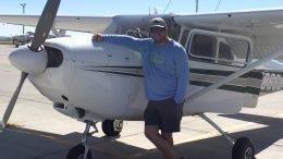 Brad w plane