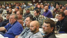 Nearly 150 growers, crop advisors, chemical reps and other players in the potato industry attend the sold-out Spud School.
